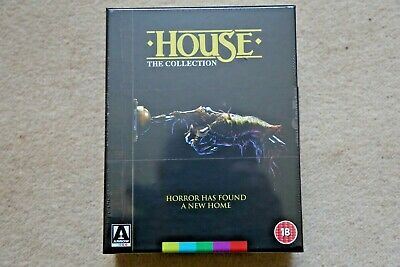 Blu-Ray House Collection Boxset   ( Arrow )  New Sealed Uk Stock