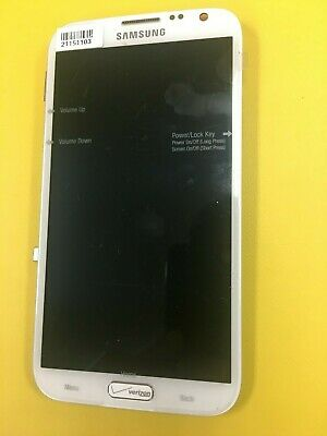 OEM Samsung Galaxy Note 2 i605/L900 LCD Display Touch Digitizer Assembly White