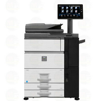 Sharp MX-6500N Color Production Laser Printer Copier Scanner 65 PPM