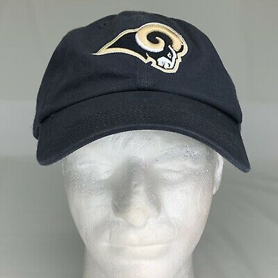 first rate 3f561 23e75 ... New Era 9Forty 4th Down Cap Hat Blue.