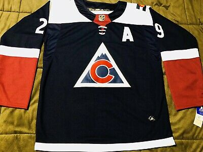 separation shoes c3c40 4864e COLORADO AVALANCHE THIRD jersey - team signed - $180.00 ...