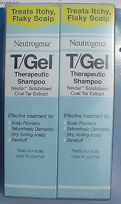 T GEL SHAMPOO 250ml For All Hair Types Unisex  1 or 2 New