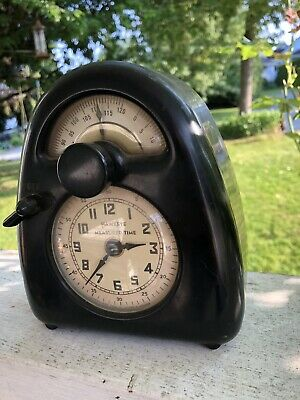 Isamu Noguchi 1932 Hawkeye Measured Time Clock. Very Rare! See Details