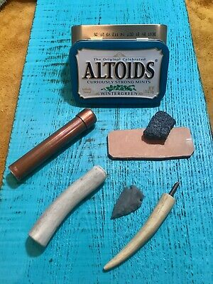 Pocket Size Flint Knapping Kit / Tools