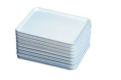 Styrofoam Printmaking & Collage Tray, 11 X 9 X 1 in, White, Pack of 250