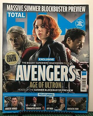 Total Film Avengers Age Of Ultron Exclusive #232 June 2015 FREE SHIPPING JB