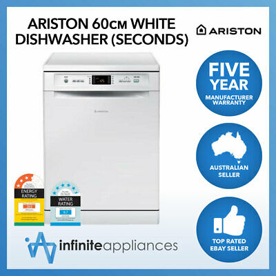 Ariston 60cm White 14 Place Setting Dishwasher (Factory Seconds)