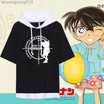 DETECTIVE CONAN ANIME Case Closed T Shirt size S 3XL