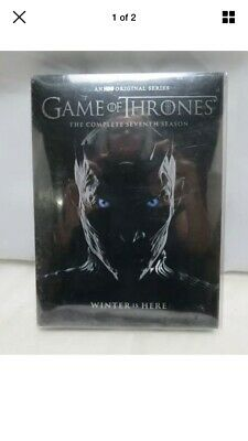 Game of Thrones The Complete Seventh Season Winter Is Here DVD Set Sealed