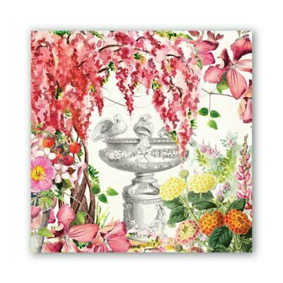 In the Garden Luncheon Napkins by Michel Design Works - Pack of 20