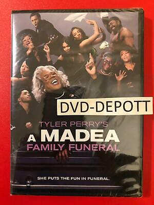 Tyler Perry's A Madea Family Funeral DVD {{AUTHENTIC DVD READ DESCRIPTION}} New!