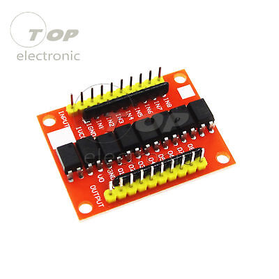 8 Way Optocoupler Isolation Board Module 12V High Level Trigger Device for PCB