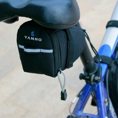 Bicycle Bike Strap-On Saddle Storage Bag Tail Rear Seat Pouch Outdoor U.S.A