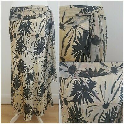 Adini 100/% cotton voile skirt fully lined solid hem panel side zip fastening
