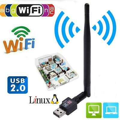 600Mbps USB Wifi Router Wireless Adapter PC Network LAN Card Dongle + 5Ante N2Y8