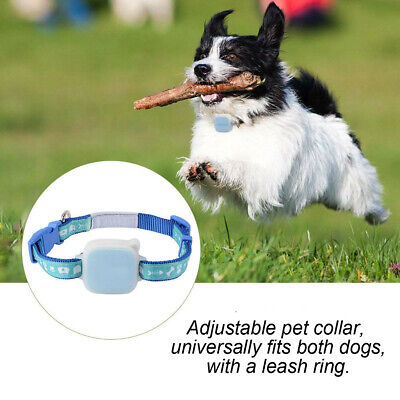 GPS Pet Tracker Collar Real Time Locator Waterproof Tracking Device for Kid/ Dog