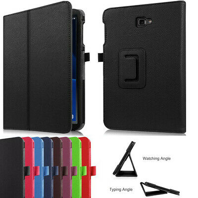For Samsung Galaxy Tab A 10.1 SM-T580 T585 Tablet Leather Stand Flip Cover Case