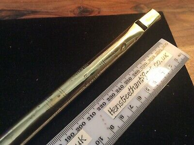 Late19th Early20th Century Brass Penny Whistle