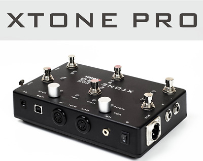 XTONE Pro 192K Mobile Guitar Audio Interface ios effect app MIDI IPAD USB