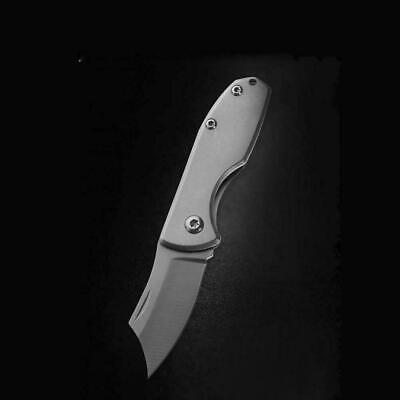 Key Chain Mini Folding Pocket Knife Outdoor Survival Stainless Steel New