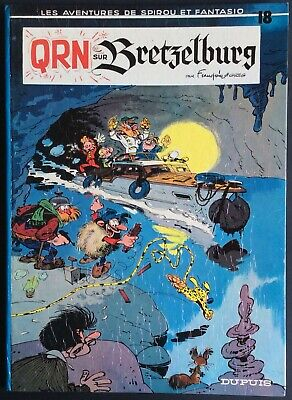 Spirou and Fantasio Tome 18 Qrn over Bretzelburg Eo 1966 Very Good Condition