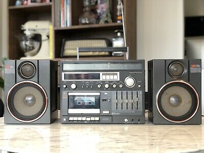 National Panasonic RX-C100 Boombox
