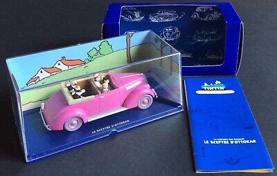 Car Tintin No. 69 the Cabriolet a Dupondt from Sceptre Atlas 2007 Mint
