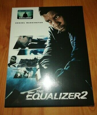 THE EQUALIZER 2 - Filmarena XL fullslip blu-ray steelbook (FAC #111 - ed. 1)