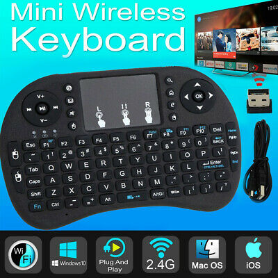 2.4GHz MINI Wireless Keyboard Mouse Touchpad For Android Smart TV BOX PC SPM UK