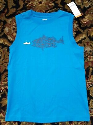 GYMBOREE MIX N MATCH NAVY w// TEAL /& YELLOW CAMO ACTIVE TANK TOP 5 6 7 8 10 12 NW