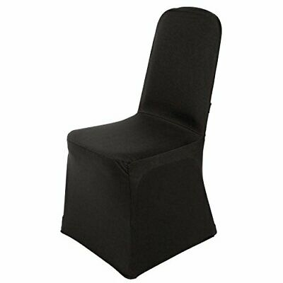 Bolero DP923 Banquet Chair Cover, Black