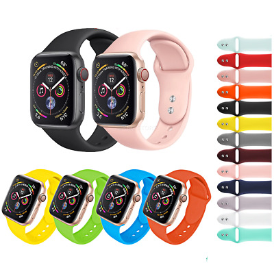 CINTURINO per Apple Watch series 4 3 2 1 SPORT RUN SILICONE 44 42 40 38 mm