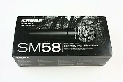 Shure SM58-LC Dynamic Wired XLR Professional Microphone BRAND NEW
