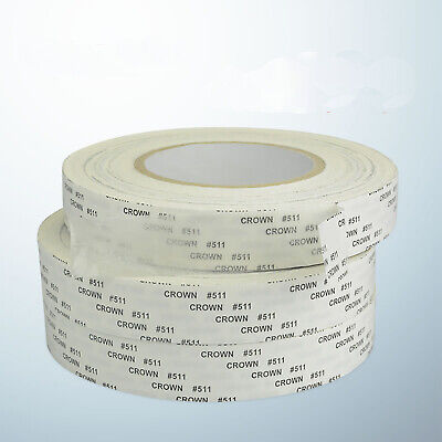 50m/Roll Ultra-thin Double Sided Super Sticky Adhesive Tape Heat Resist 0.12mm T