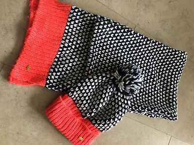 Superdry Hat and Scarf set, womens