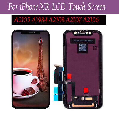 For iphone XR LCD Touch Screen Replacement Digitizer Assembly Display Black New