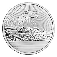 Lot of 10 x 2 oz 2019 Australia Next Generation Series | Crocodile Silver Coin