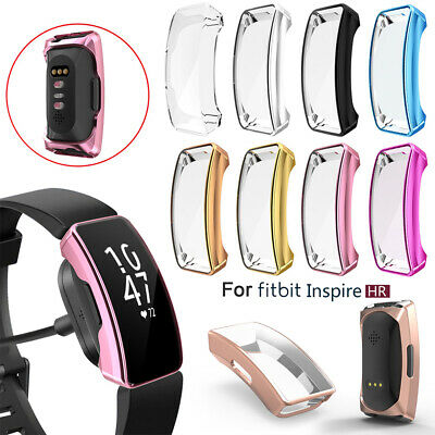 Band TPU Watch Case Protective Cover Silicone Shell For Fitbit Inspire & HR