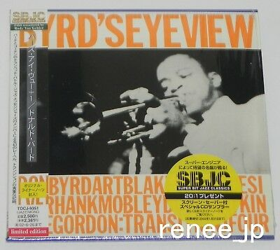Donald Byrd / Byrd's Eye View Japan Mini LP CD W / Obi TOCJ-9351