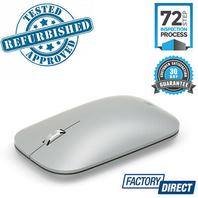 Microsoft Kgy-00025 Surface Mobile Platinum Mouse Mice Wireless Bluetooth Pc