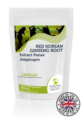 Red Korean Ginseng Extract 100mg Capsules GB
