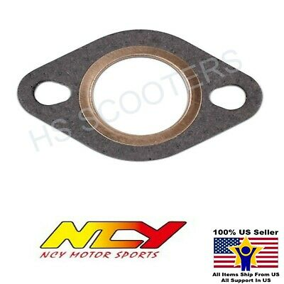 NCY COPPER / FIBER EXHAUST GASKET 150cc 50cc GY6 QMB139 MOTORS
