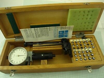 Internal Precise 3-point Dial Bore Gauge 20-30mm/0.002mm Keilpart Suhl DDR