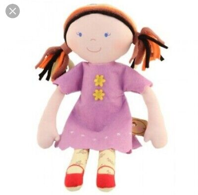 Bonikka Amy Rag Doll by Imajo Traditional Soft Childrens toy 3 months plus