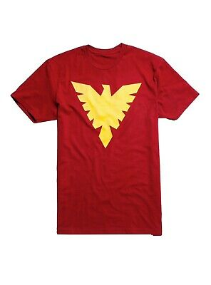 MARVEL X-MEN DARK PHOENIX LOGO Mens T-SHIRT