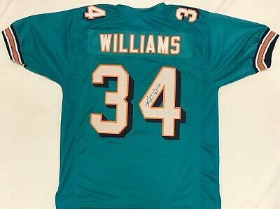 62584752f78 Ricky Williams Signed Autographed Green Jersey TriStar Authenticated