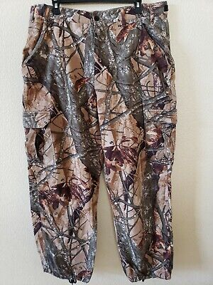930778f41df06 OUTFITTERS RIDGE FUSION 3-D Camo Cargo Pants Size L(36/38) Fishing ...