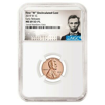 2019 W Uncirculated Lincoln Penny Cent Comm. NGC MS 69 PL ER (Lincoln Label)