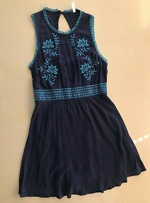 ade435f03a Blue dress, target, new, no tags, never worn, xhilaration, eyelet