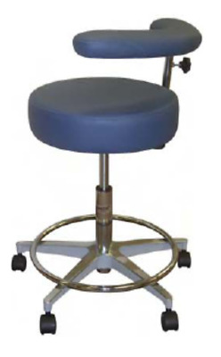 New Galaxy Round Seat w/ Fixed Foot Rest & Body Support 1065